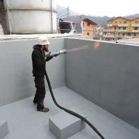 Dopo - Rivestimento di una vasca in cemento